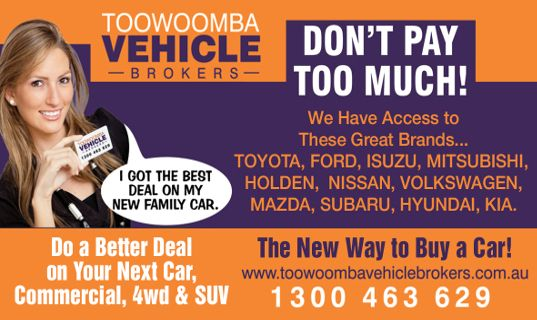 vehicle brokers toowoomba