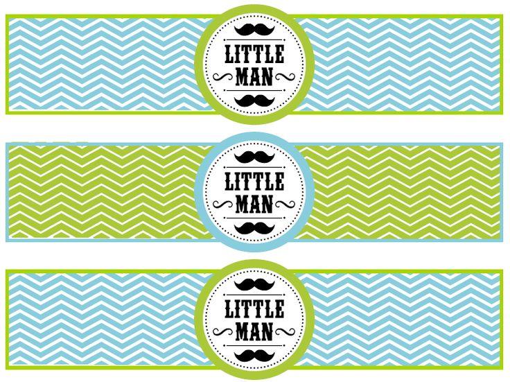 MY BABY REGISTRY Mustache baby shower theme (9)