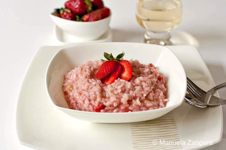 Risotto, Strawberries and I am on Pinterest