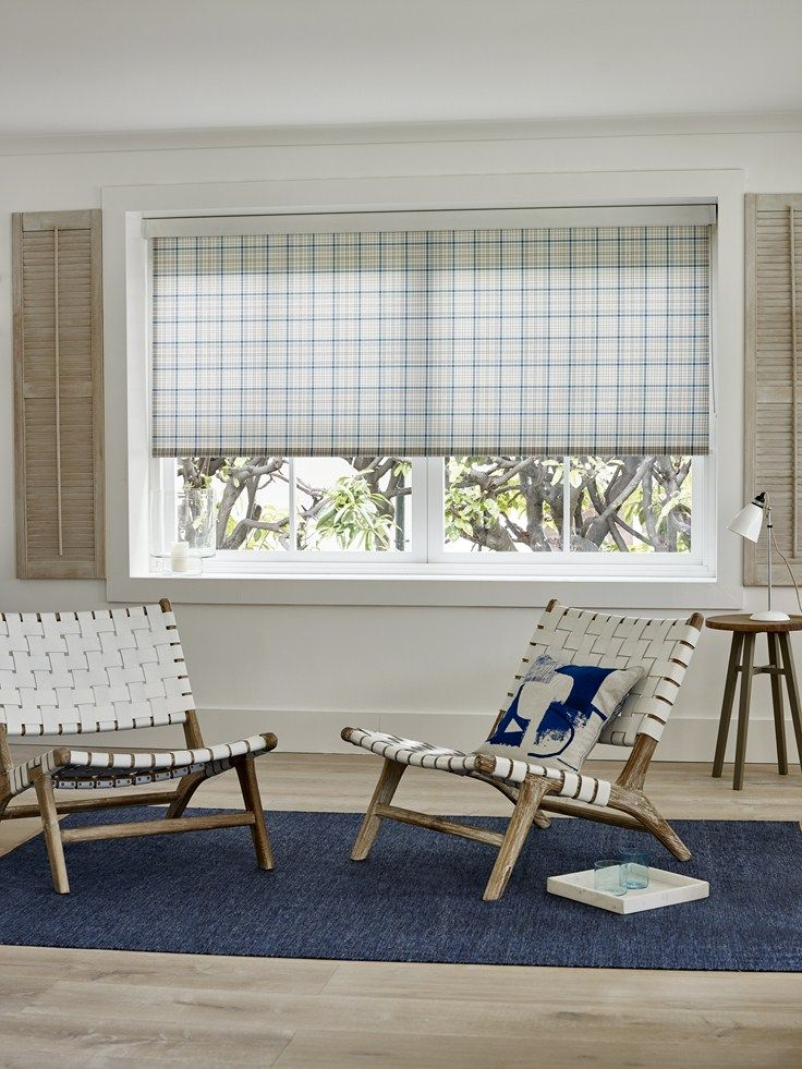 Beach house and cottage chic combine to create a modern and cosy decor. Bloc Blinds have a huge range of window blinds to suit all rooms.