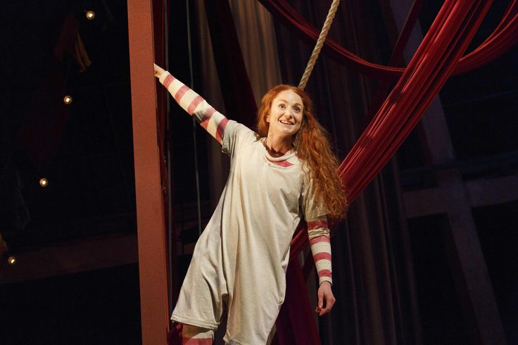 Phoebe Thomas as Hetty. Photo by Donald Cooper.   Buy your tickets for Hetty Feather Live here http://bit.ly/1MQDZeA