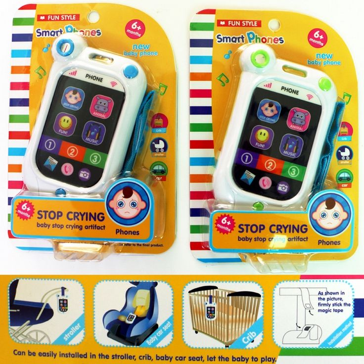 3 Colors Baby Learning & Education Sound Music Smartphone Model Talking Toys For Kids Mobile Cell Phone Toy