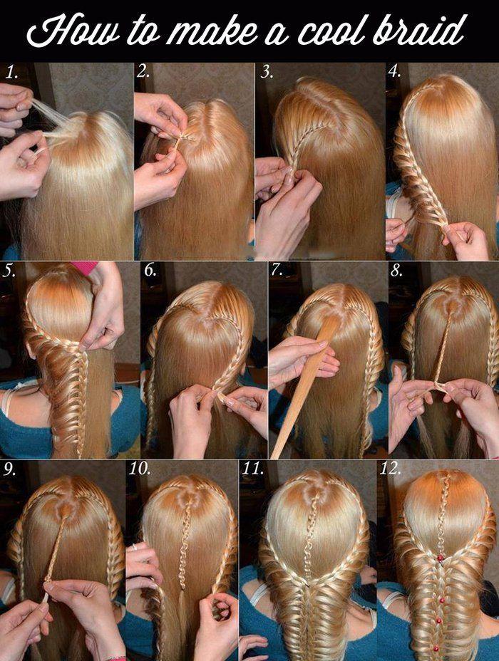 Hair / Styles / Game of Thrones-style braid #daenerys #gameofthrones #medieval