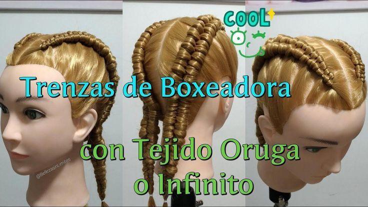 #boxeadora #boxerbraids #con #de #Infinito #Oruga
