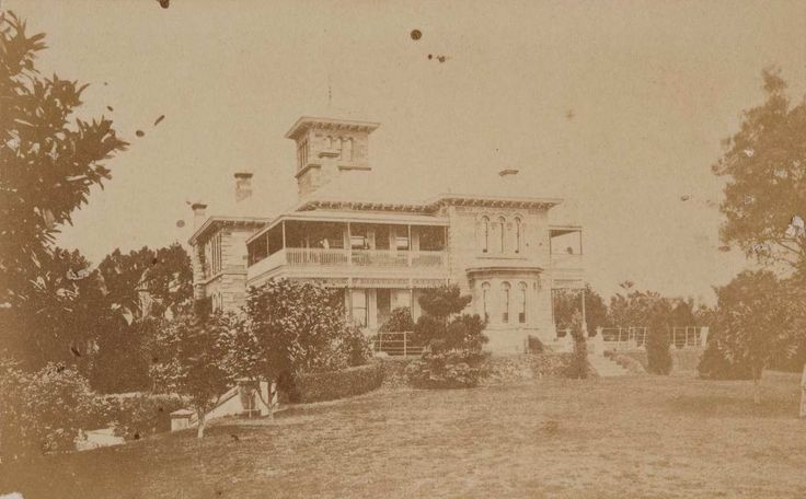 General view of Hordern family mansion, Retford Hall, Darling Point, Sydney…
