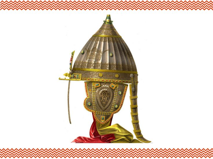«Ерихонская шапка» Александра Невского | Кириллица