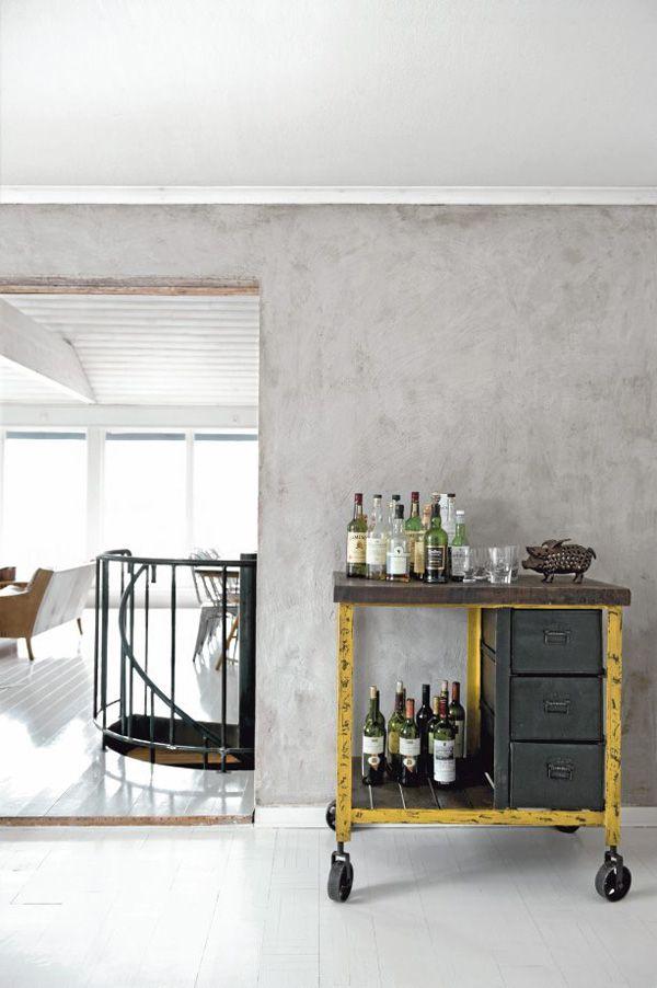 18a: Drinks Carts, Cool Bar, Vintage Bar Carts, Old Tools, Industrial Bar, Industrial Chic, Industrial Style, Design Home, Modern House