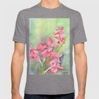 T-shirt featuring Red Orchid by Ewally