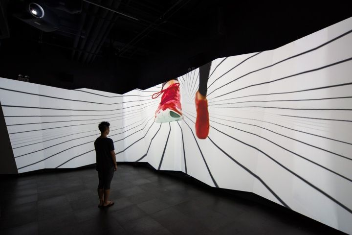 Under Armour installation by HUSH, Shanghai – China