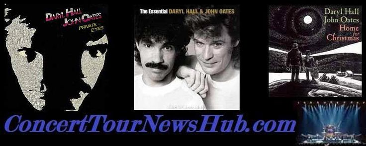 Updated Hall & Oates 2015 40th Anniversary Tour Schedule - Updated @halloates #MusicNews #TourSchedule