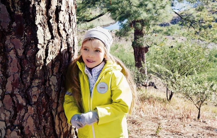 This jacket is perfect for early spring days, when it might still be a bit chilly outside.  #reima #kidswear #taag #ss16 #outdoors