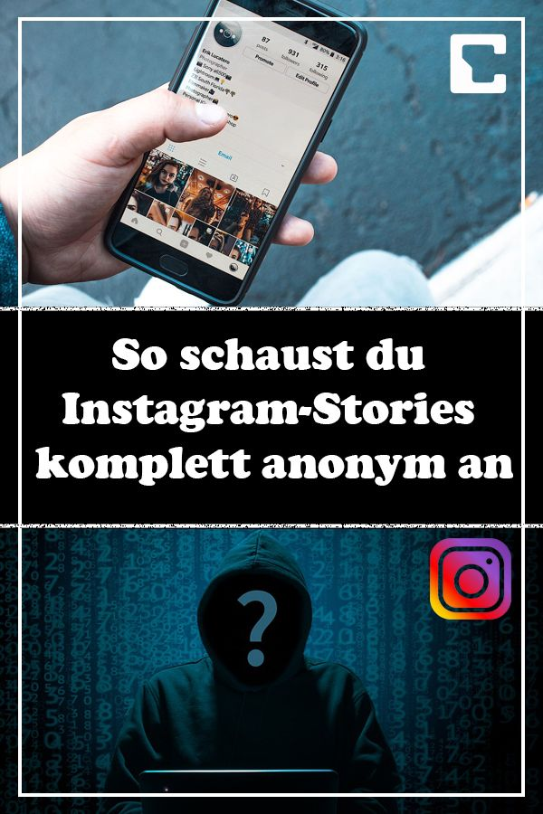 Instagram Stories Anonym