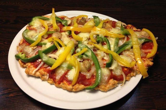 Kreatív csirkés pizza, szénhidrát nélkül / Fitbuilder