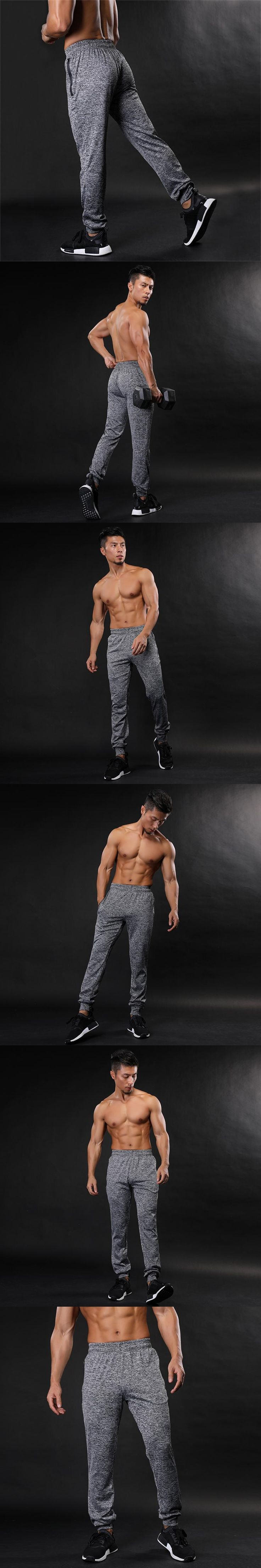 2017 New High Quality Jogger Pants Men Fitness Bodybuilding Gyms Pants For Runners Brand Clothing Autumn Sweat Trousers Britches