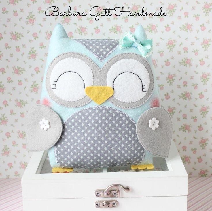Barbara Handmade...: felted owls
