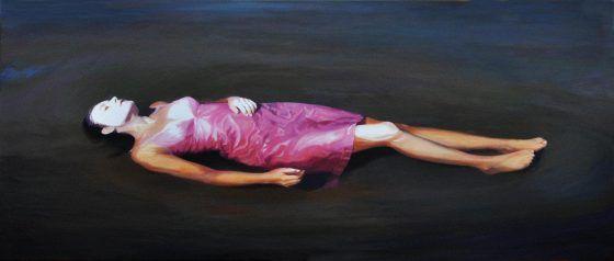 Karin Broos: Den rosa klänningen, 2011