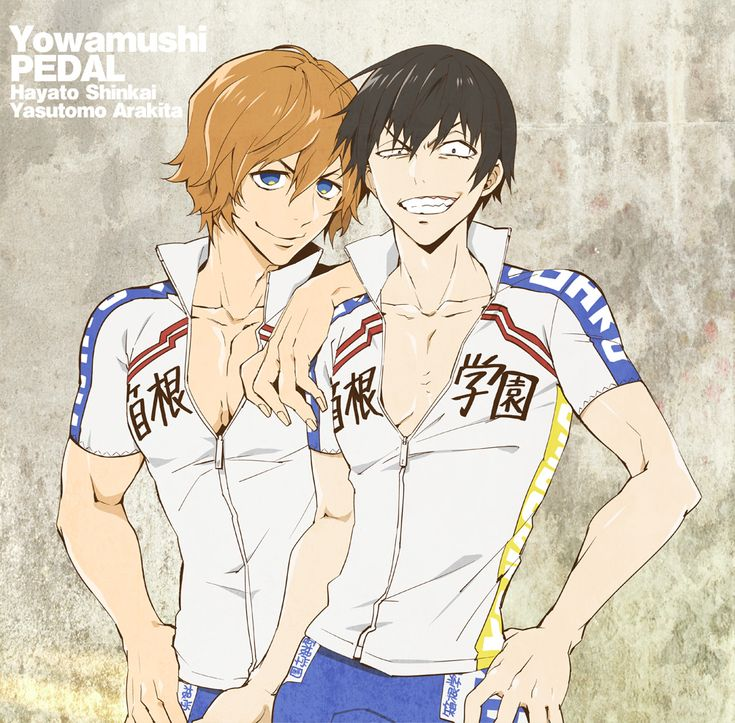 Arakita & Shinkai | Yowamushi Pedal