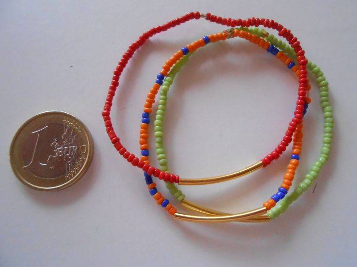 A set of Seed Sized Beaded Elastic Bracelets. They go perfectly with Macrame Bracelets.www.highmoda.eu