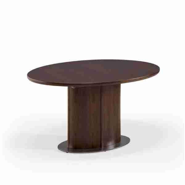 2293 Table En Bois Contemporaine Ovale Extensible Sm72 In 2020 Table Decor Home Decor