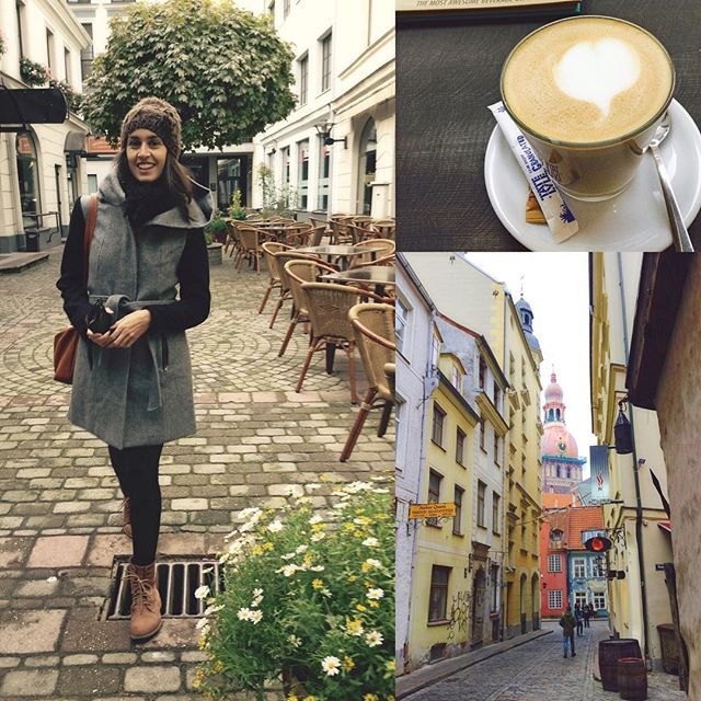 Riga hace un año... 😜 #riga #latte #latvia #europe #explore #expat #travelgram #travelblog #voyageuse #reis #oldcity #wanderlust #world #worldwanderlust #worldtravel #winter #viaje #viagem #voyage #viaggio #igtravel #photography #mosaic #instagram #instatravel
