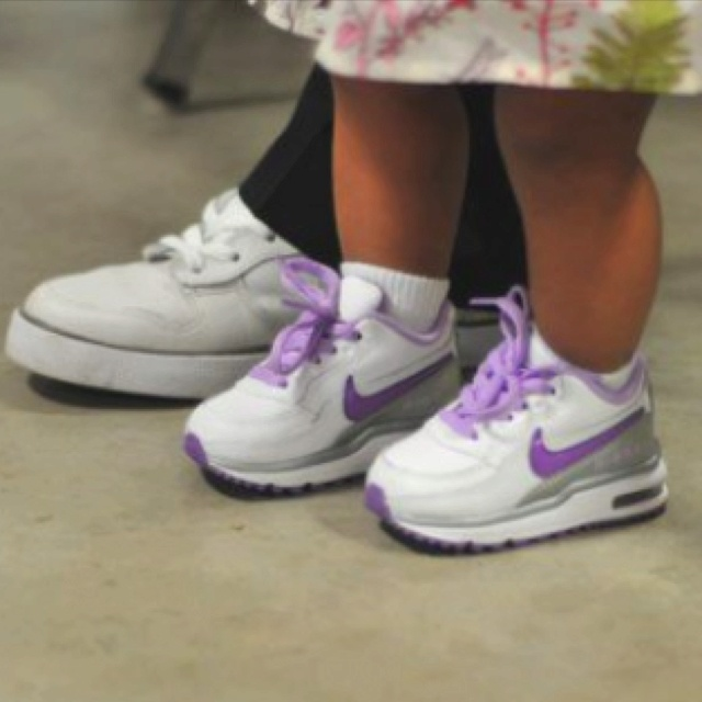 Her lil air max
