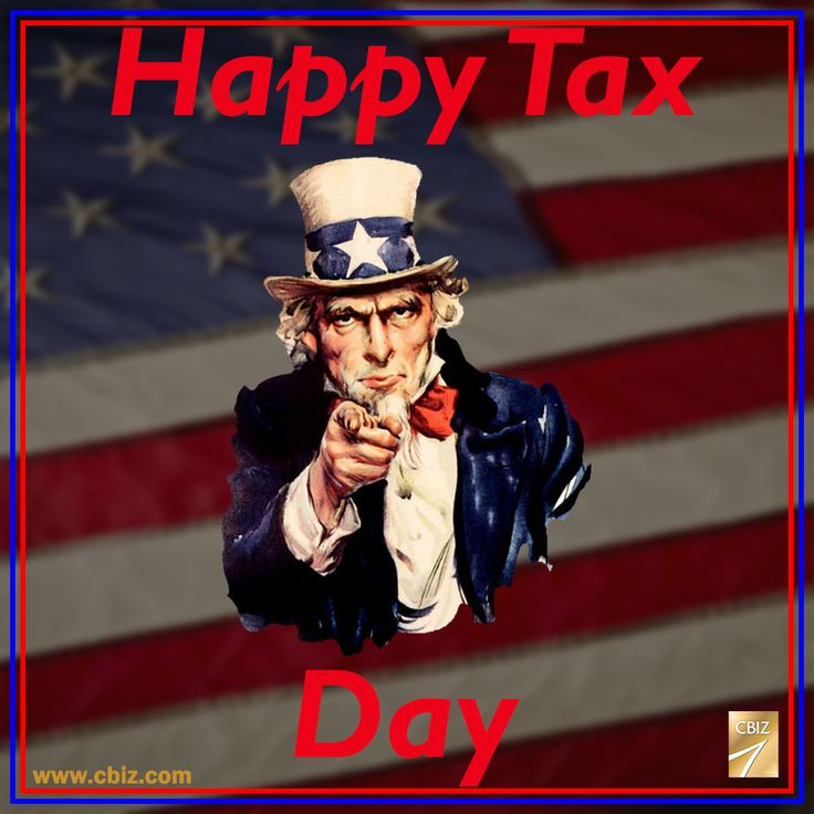 Reminder: Tax Day is April 18th and NOT April 15th as it normally is. Due to the 15th landing on a Saturday and Emancipation Day falling on Sunday but being recognized on Monday, Tax Day is pushed back another day to the 18th!
