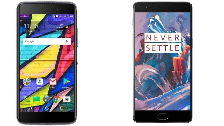 Alcatel Idol 5 Cricket vs OnePlus 3 Subscribe! http://youtube.com/TechSpaceReview More http://TechSpaceReview.tumblr.com