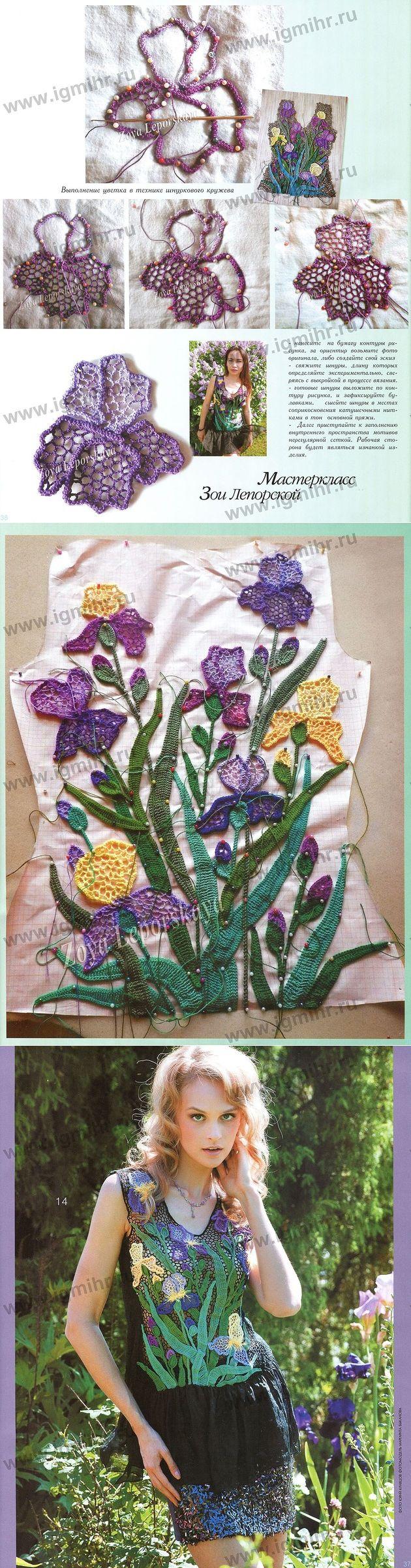 Irish floral blouse... ♥ Deniz ♥