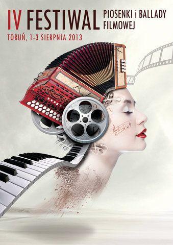 4. Festiwal Piosenki i Ballady Filmowej – 1-3 sierpnia 2013 r., Toruń