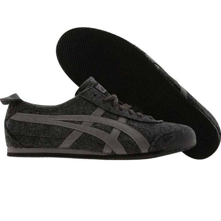 asics tiger all black