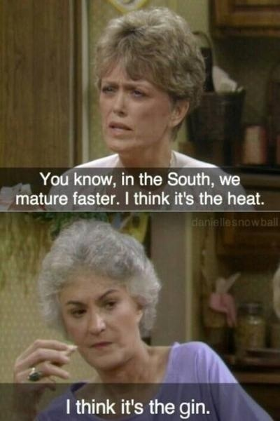 Blanche and Dorothy - Golden girls