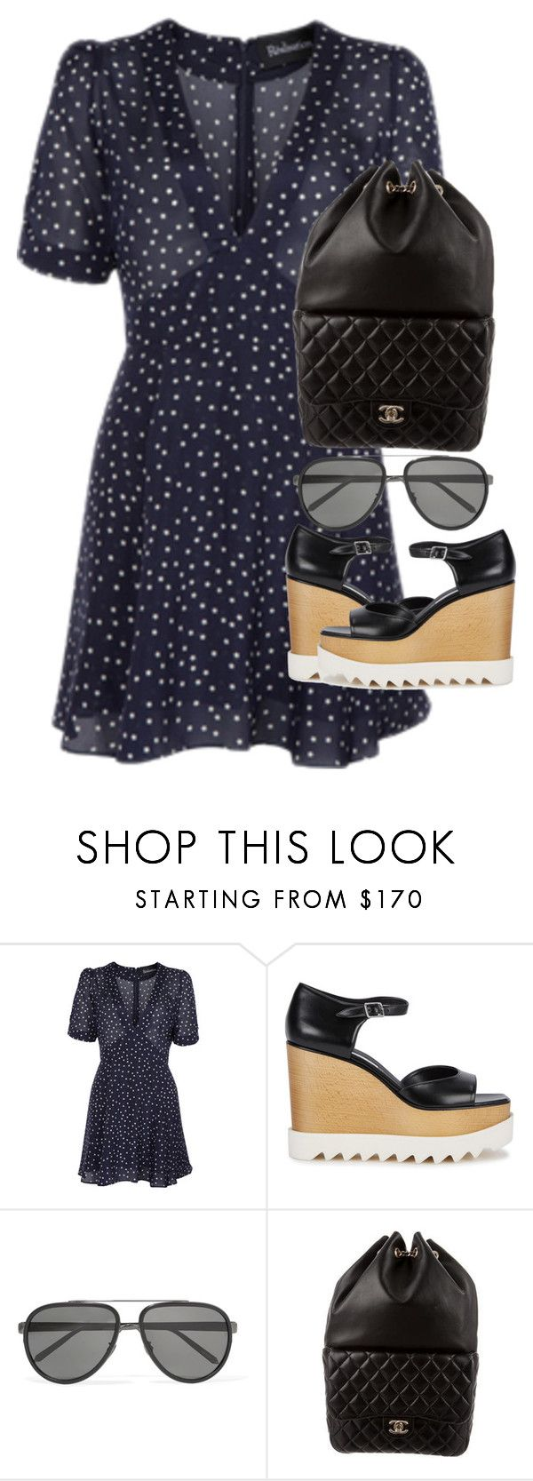 """Untitled #3083"" by elenaday ❤ liked on Polyvore featuring STELLA McCARTNEY, Linda Farrow and Chanel"