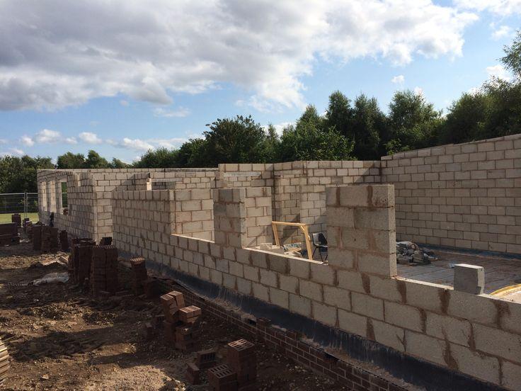 Progress photography at the #school in #Birmingham #construction #newbuild #build #building www.belwell.co.uk