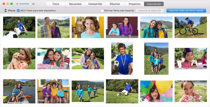 Importar fotos y vídeos del iPhone, iPad o iPodtouch - Soporte técnico de Apple