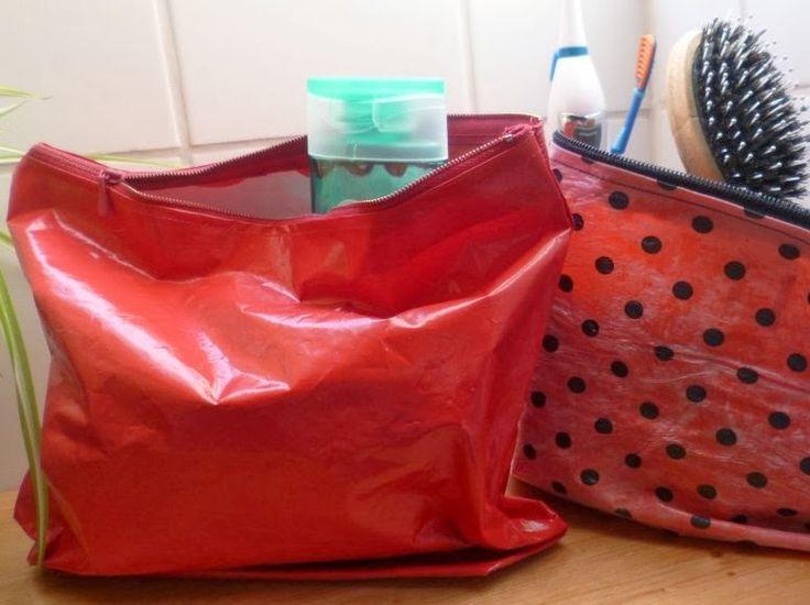 Die kleine Herzenswerkstatt: Plastiktüten Upcycling