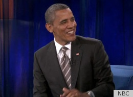 """President Obama made a charming (as always) appearance on Jimmy Fallon's show last night, with the pair broadcasting """"Late Night With Jimmy Fallon"""" from the University of North Carolina campus."""