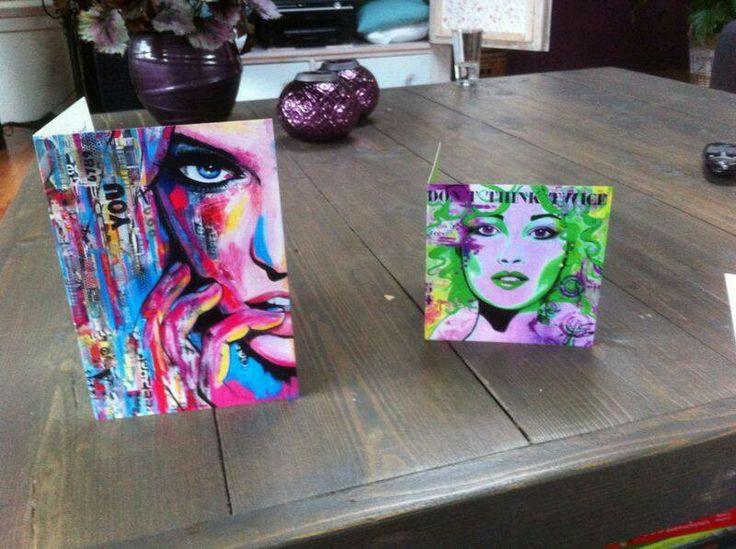 Kunstkaarten van Janet Edens