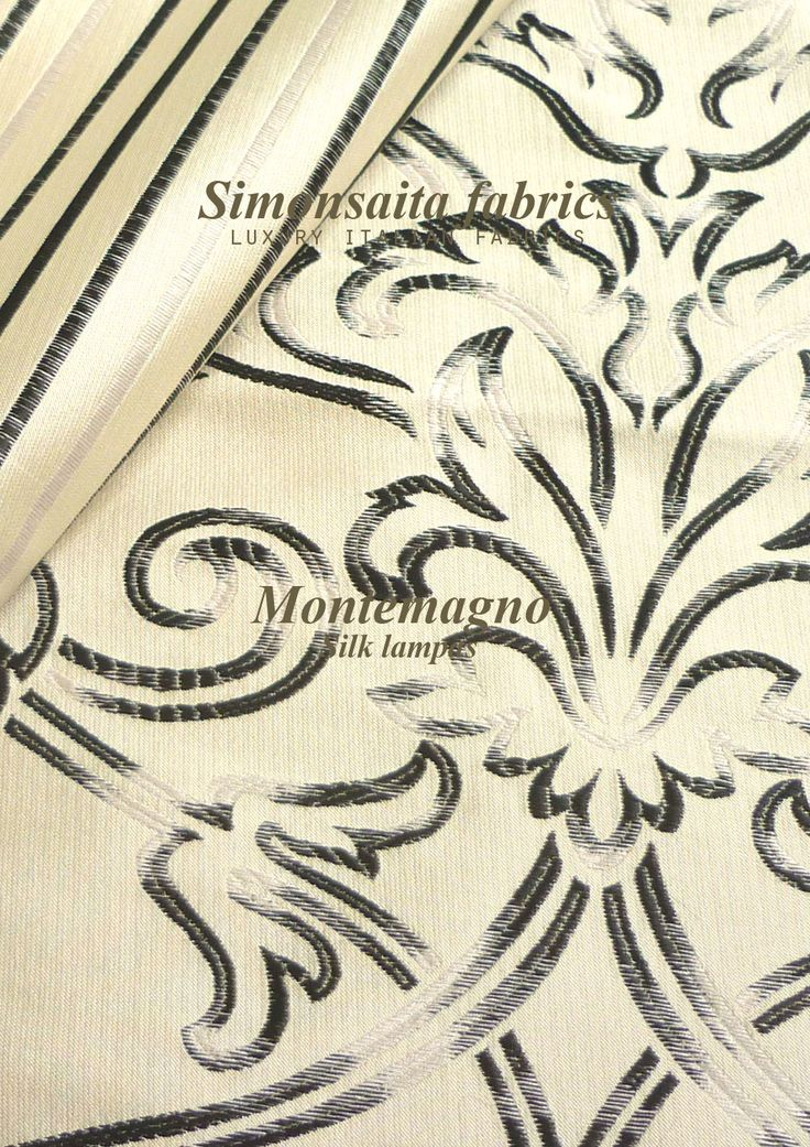 Montemagno Collection Silk Lampas