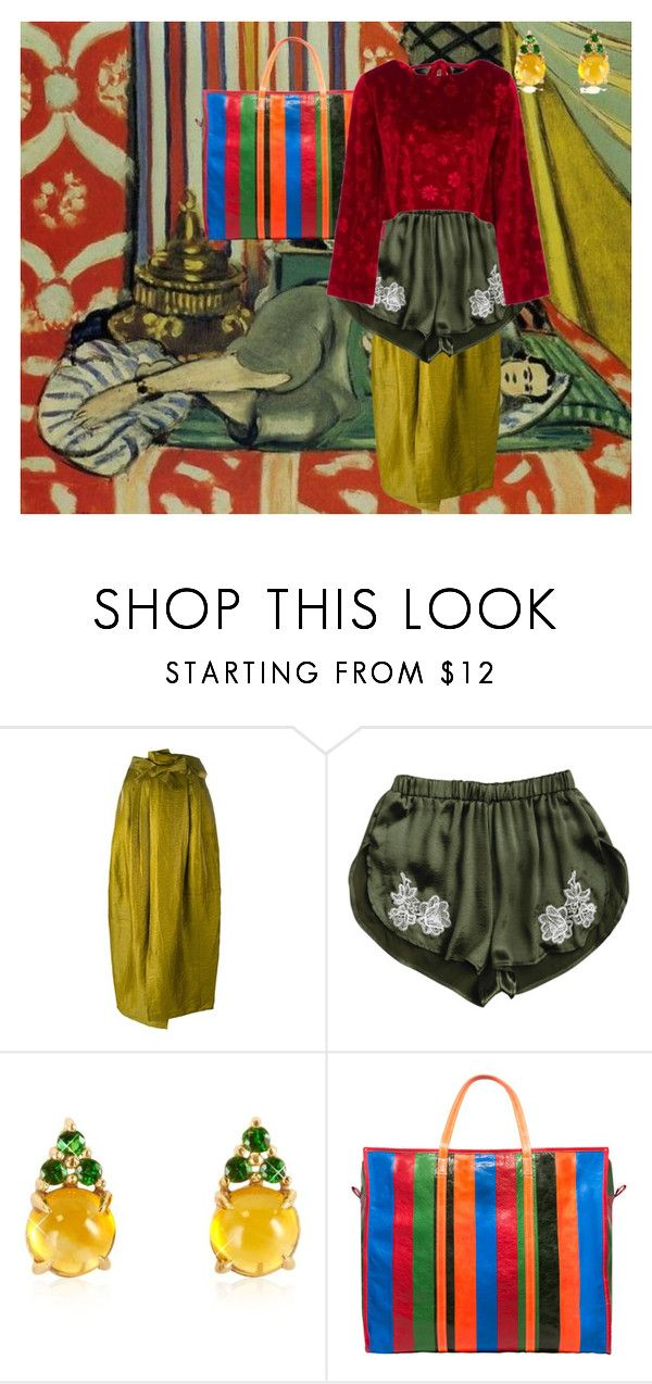 """""""matisse"""" by laureckaite on Polyvore featuring Christian Wijnants, Mia & Beverly, Balenciaga and Vjera Vilicnik"""