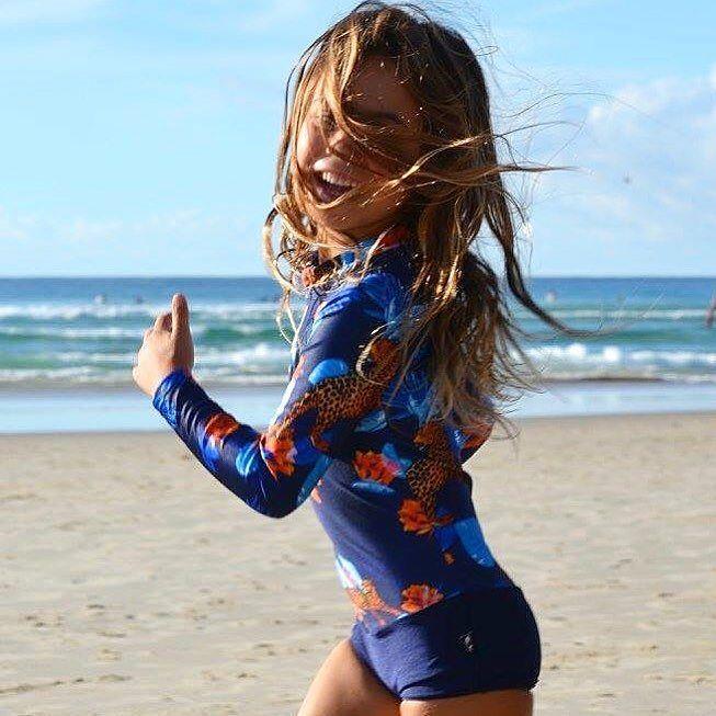 "NEW ""Safari Night"" by Oceana Blue Swimwear  Model wearing size 6-7  #fiveyearsold #mothersday #grateful #familylove #beach #snapperrocks #coolangatta #qld #autumn  by oceanablueswimwear"
