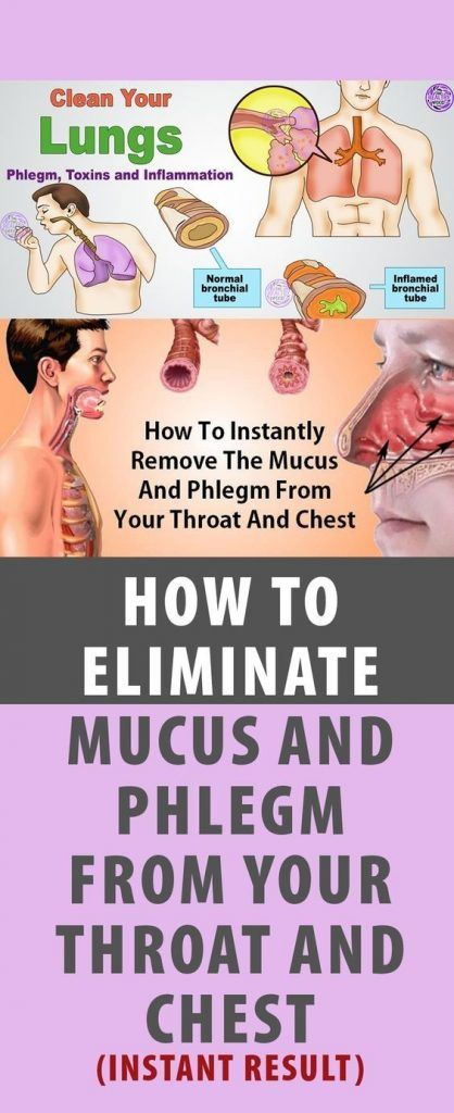 HOW TO GET RID OF PHLEGM AND MUCUS IN CHEST