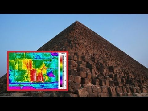 Mysterious Object and Anomalies in Giza Pyramid Found By New Thermal Scan (Video)   RedFlag News