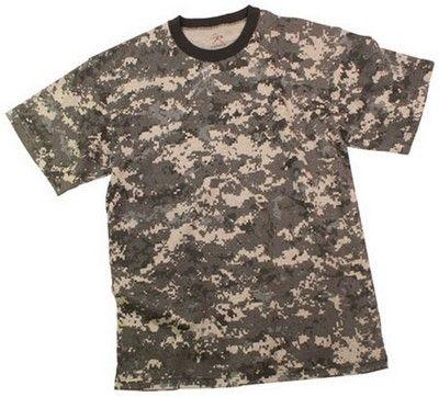 Digital Camo T-Shirts Subdued Digital City Camouflage