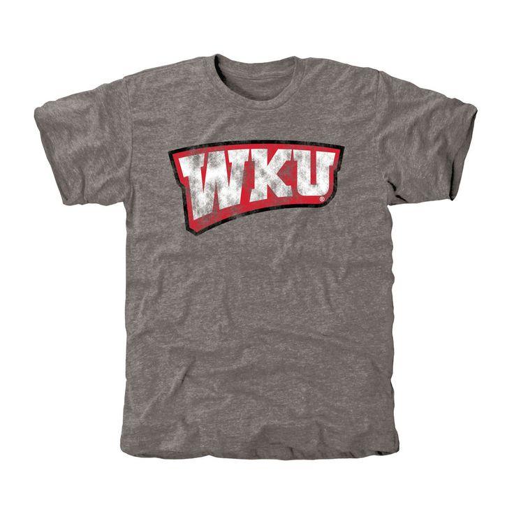 Western Kentucky Hilltoppers Classic Wordmark Tri-Blend T-Shirt - Gray