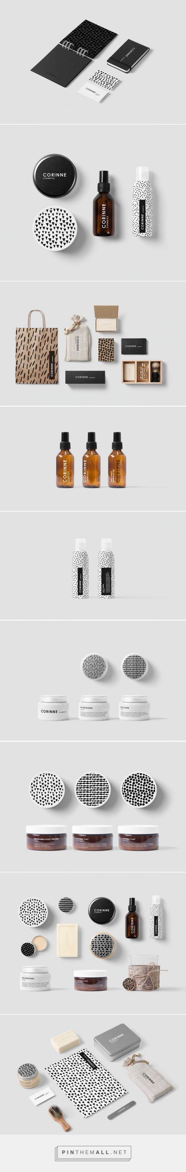 Corinne #Cosmetics #packaging by Anna Trympali - http://www.packagingoftheworld.com/2015/03/corinne-cosmetics.html