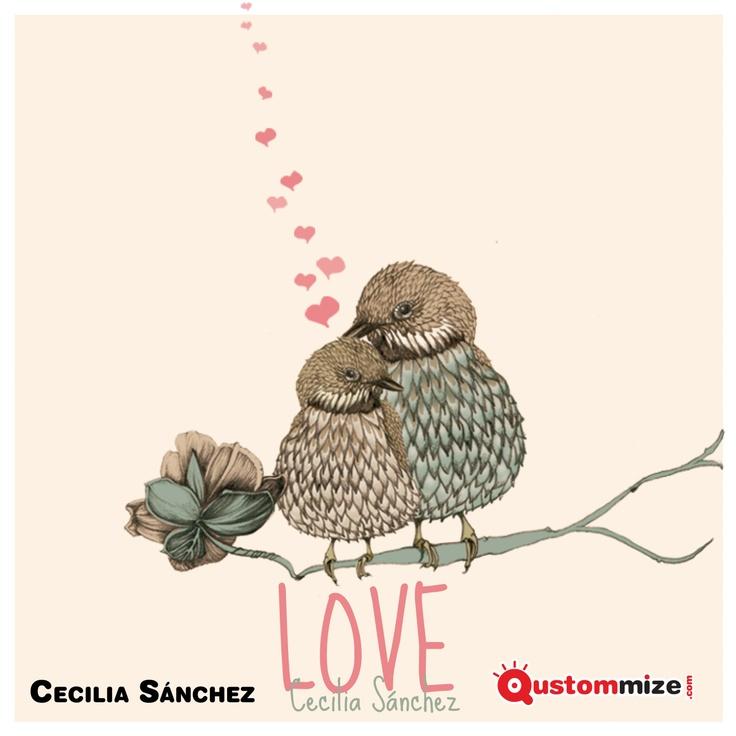 """I Concurso de ilustración """"Jon"""" (San Valentín 2.013).    Esta es una de las dos ilustraciones ganadoras del concurso. Cecilia Sánchez."""