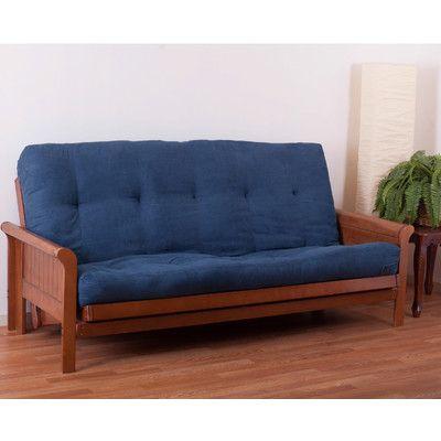 "Vitality 8"" Cotton/Foam Full Futon Mattress Color: Sage - http://delanico.com/futons/vitality-8-cottonfoam-full-futon-mattress-color-sage-701599821/"