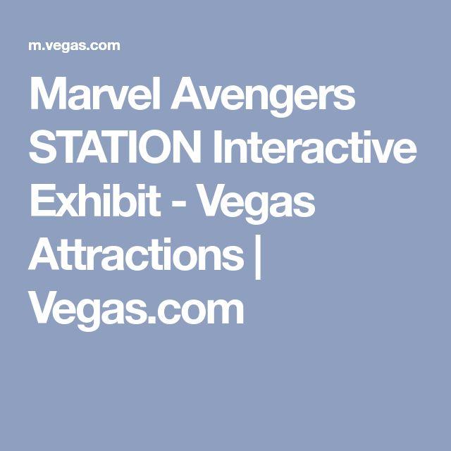Marvel Avengers STATION Interactive Exhibit - Vegas Attractions | Vegas.com