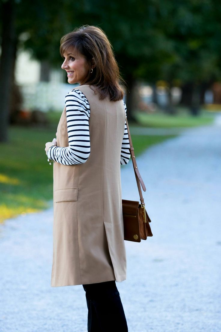 Style Tip: A striped top is a basic wardrobe piece that can be styled with so many different outfits