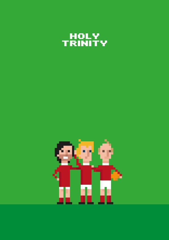 The Holy Trinity. Best, Charlton, Law. Manchester United. #mufc ...
